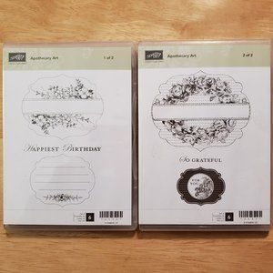 Stampin' Up! - Apothecary Art - 2 Sets of Stamps